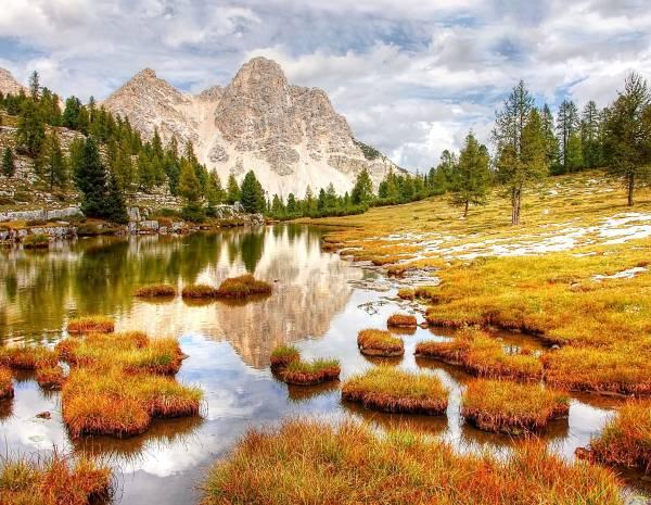Zaunposter & Gartenposter Dolomiten