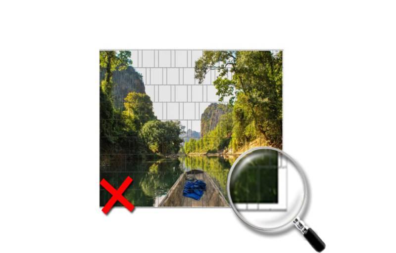 Sichtschutz Zaunmotiv erstellen Anleitung
