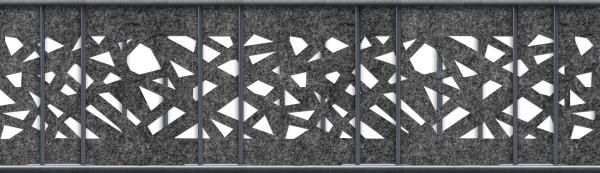 Florenz Graphic Einzelstreifen Laser