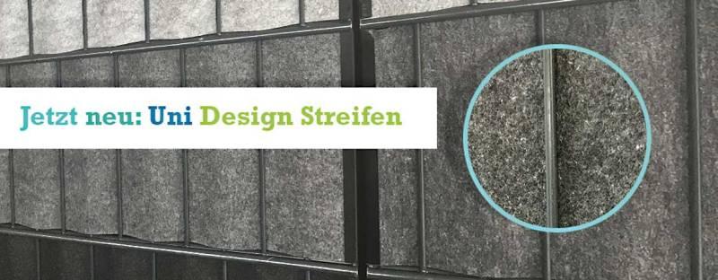 Zaun Sichtschutz Uni + Design