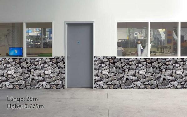 Wandschutz - Bruchstein groß schmal