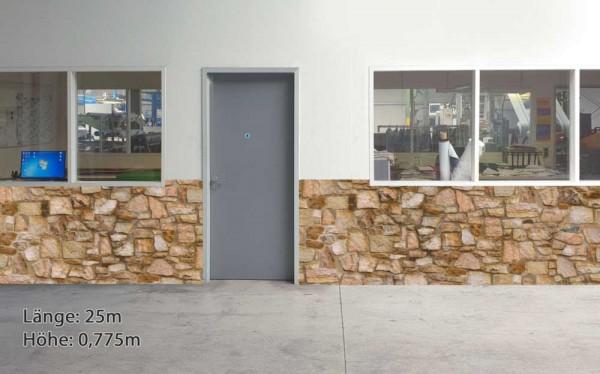 Wandschutz - Sandstein neutral schmal