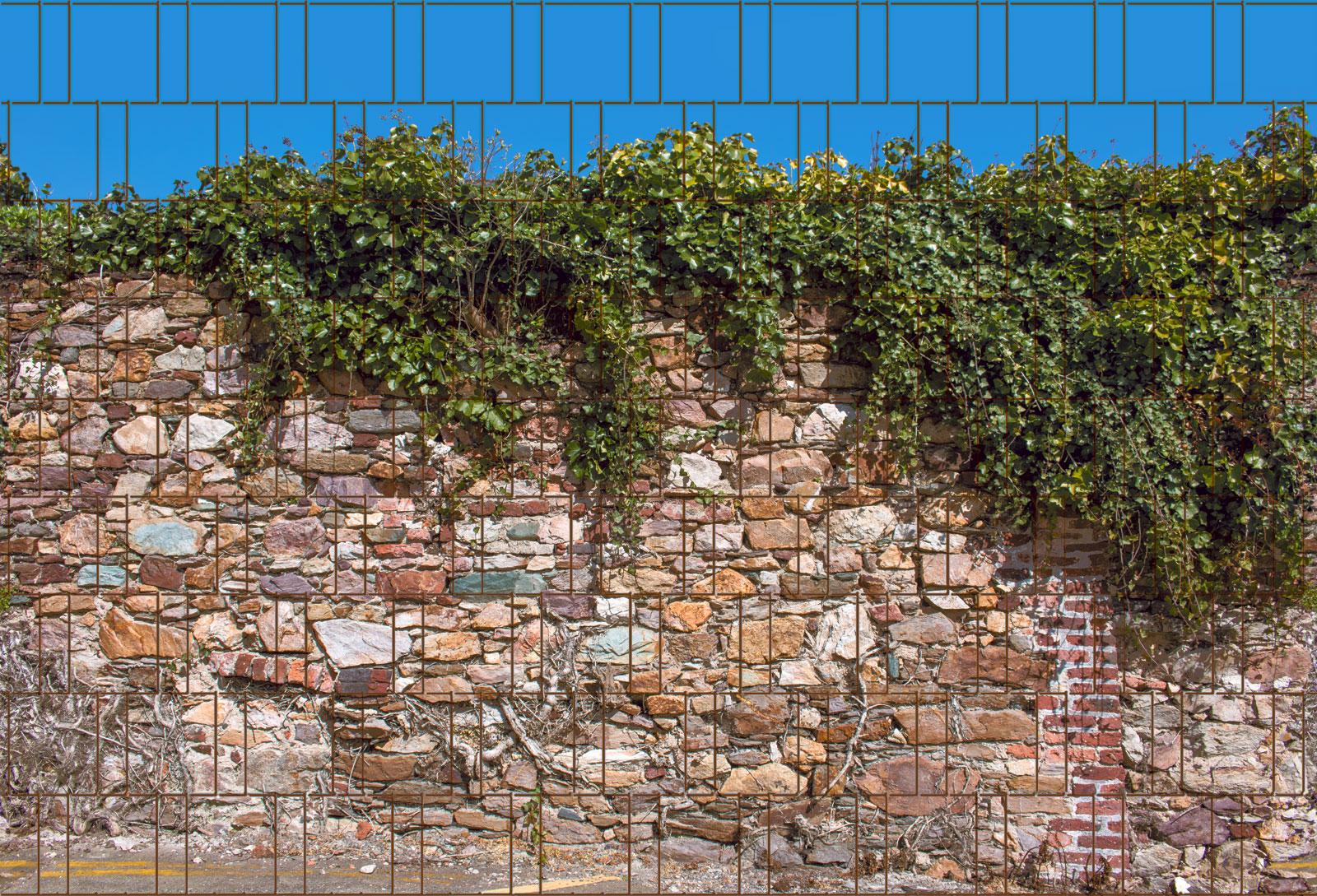 Sichtschutzstreifen Kreta 1 Rolle 23 4m Fur Doppelstabmatten