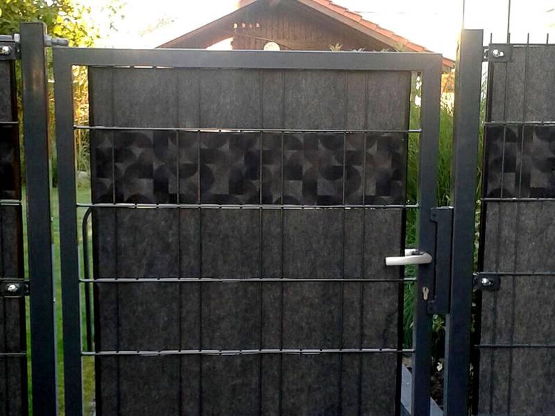 Zaun Sichtschutz Florenz Gartentor