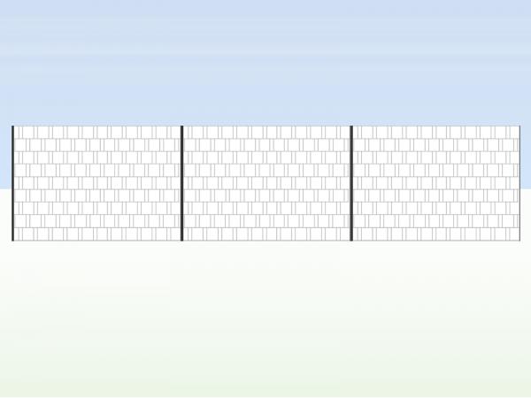 Panorama Zaun XXL