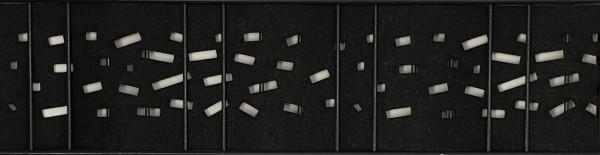 Milano-Criss-Cross-Einzelstreifen-Laser