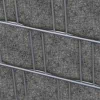 Zaundruck Doppelstabmatten Sichtschutzstreifen Ohne Pvc