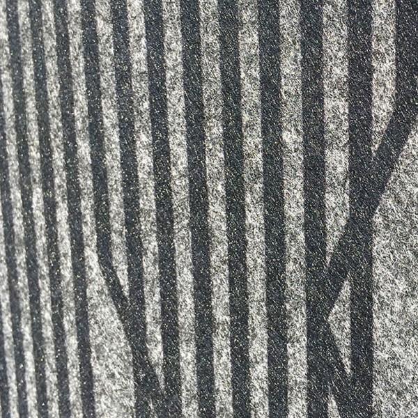 Florenz Lines - Dekor Design Vlies Sichtschutz für Doppelstabmattenzaun