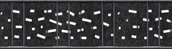 Milano Criss Cross Einzelstreifen Laser