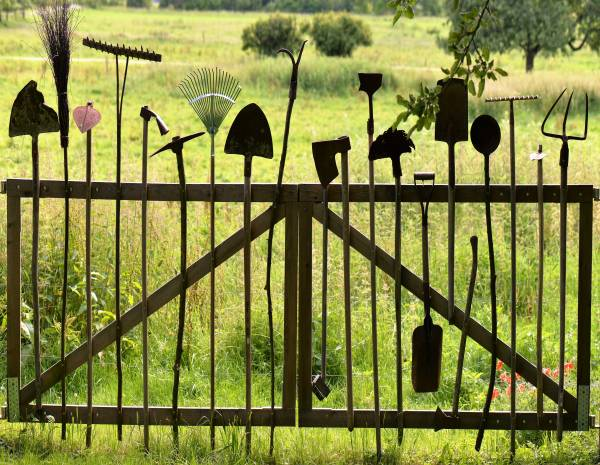 Zaunposter & Gartenposter