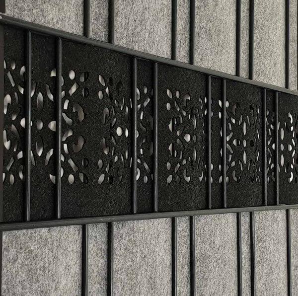 Milano-Ornament Einzelstreifen-Laser
