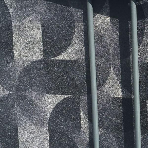 Florenz Flora - Dekor Design Vlies Sichtschutz für Doppelstabmattenzaun