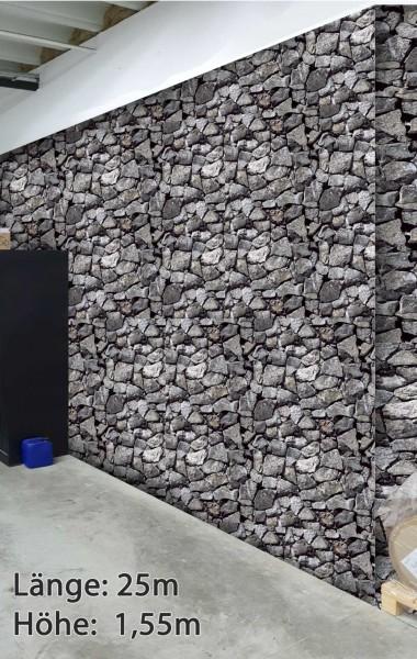 Wandschutz - Bruchstein groß breit