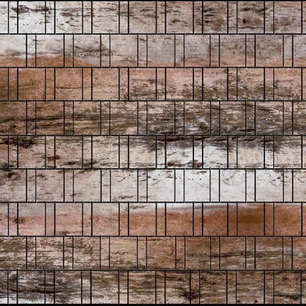 Holzwand Bedruckte Sichtschutzbahn Fur Stabmattenzaun Fenceprint