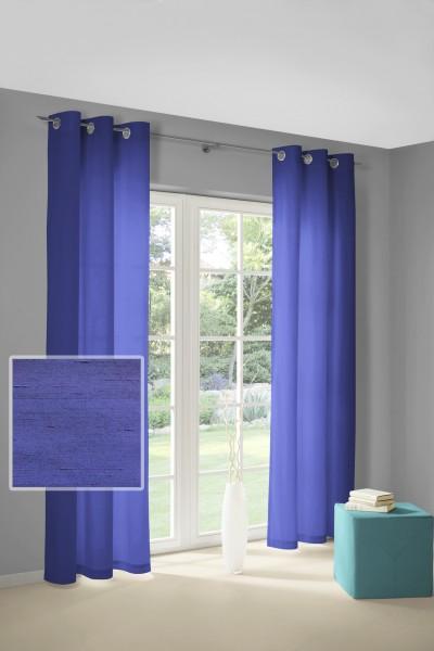 royal-blue Gardinen Vorhänge mit Ösen