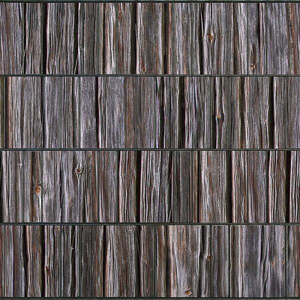 holzbohle bedruckter sichtschutz streifen mattenzaun ebay. Black Bedroom Furniture Sets. Home Design Ideas